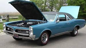 1967 Pontiac GTO Post Coupe For Sale~Beautiful Condition~Matching ...