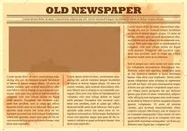 Old Newspaper Template Microsoft Word Grupofive Co