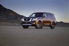 2017 Nissan Armada Unveiled With 8 500 Pound Towing Capacity