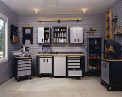 workbench lighting ideas. great tidy and efficient garage with husky workbench make it spacious safe lighting ideas