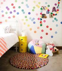 polka dot wall decals