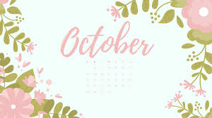 October 2018 Calendar Wallpaper ...