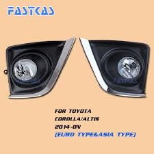 2014 Toyota Corolla Fog Light Bulb 12v Car Fog Light Assembly For Toyota Corolla Altis 2014