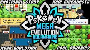 Pokemon Mega Evolution Aquamarine - 2020 | Rom Hack With New History,Mega  Evolution & More! - YouTube