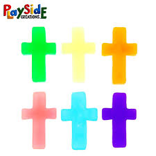 mardel christian education religious items playside creations cross erasers 1 x 1 75 inches assorted