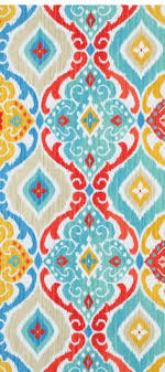 best of red and turquoise kitchen rug richloom outdoor fresca fiesta fabric red yellow turquoise