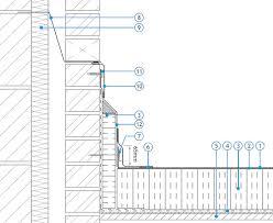 upstand to pat monarplan gf fully adhered single ply roofing