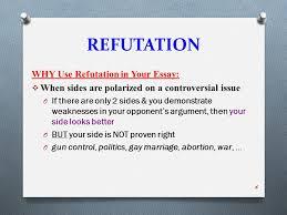 rhetorical strategies ppt 6 refutation