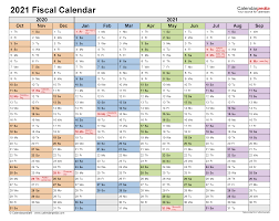 So today we're giving you a spectacular printable coloring calendar just in time for the new year. Fiscal Calendars 2021 Free Printable Word Templates