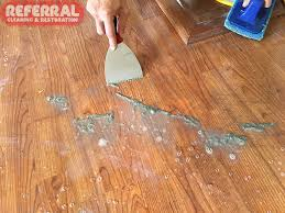 how to remove waxy residue from hardwood floors