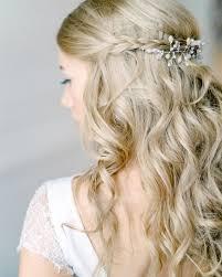 Half Up Half Down Wedding Hairstyles 16 Best HalfUp HalfDown Wedding Hairstyles For Every Type Of Bride Brides