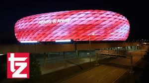 16 Millionen Farben - Arena-Licht-Spektakel - Allianz Arena erstrahlt in  neuen Farben - FC Bayern - YouTube