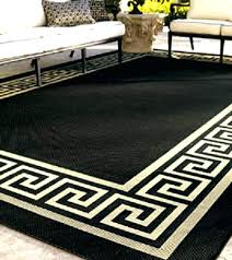 greek key rug black and gold rugs uk