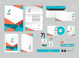 Corporate Identity Template Includes Cd Cover Business Card