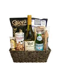 gourmet goos wine basket
