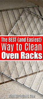 Porcelain Coated Oven Racks Seriously the BEST Way to Clean Oven Racks 54