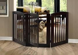 wood pet gate gates doorways by pets pets freestanding wood pet gate with walk wooden wood pet gate freestanding