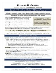 Resume For Interview Sample Fascinating Sample Board Resume An Expert Resume