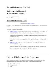 Harvard Referencing Citation Publishing