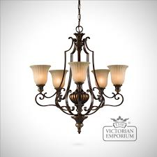 gold and bronze decorative 5 light chandelier ceiling chandeliers ceiling lights and chandeliers