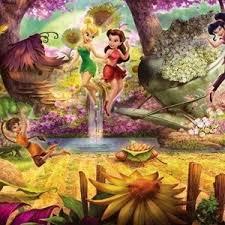 <b>Фотообои Disney Fairies Forest</b> (3,68х1,27 м) | Мой Самострой!