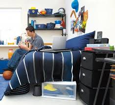 cool dorm room decorations guys. dorm decorating for guys | navy bedding works well boys\u0027 rooms. the cool room decorations c