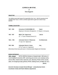 Resume Sample For Secretary Job Related Post