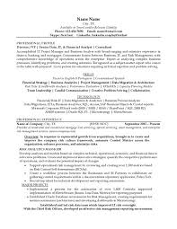 resume example 3 after loan servicer resume