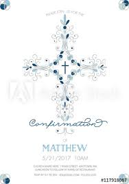 first communion invitation templates boys confirmation baptism or christening or first holy communion
