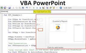 Microsoft Graph Chart Vba Vba Powerpoint How To Create Powerpoint Presentation Using