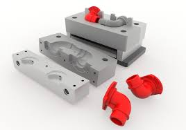Investment Casting Investment Casting Die For Elbow 3d Cad Model Library