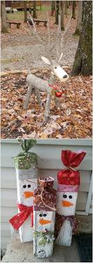 these wooden diy outdoor winter and