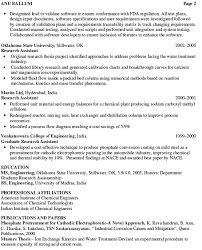 8 best images of professional chemical engineer resume example