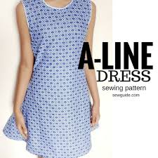 A Line Dress Pattern Magnificent Make An Aline Dress Free Sewing Pattern Tutorial Sew Guide