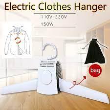 220V Có Thể Gấp Lại Treo Quần Áo Điện Giặt Máy Sấy Quần Áo Giá Để Giày  Thông Minh Móc Áo Khoác Dành Cho Du Lịch Quần Perchas Clothes Dryers