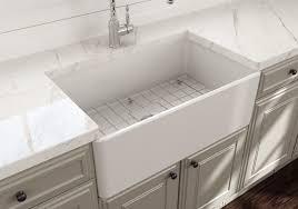 randolph morris 30 inch single bowl farmhouse sink with chrome drain and grid