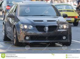 G8 Gt Fog Lights Pontiac G8 Gt Car On Display Editorial Stock Image Image