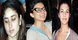 bollywood actresses without makeup show you their real faces