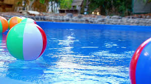 pool water with beach ball. Colorful Beach Balls Floating In Pool. - HD Stock Footage Clip Pool Water With Ball E