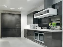 modern interior kitchen design. Interesting Interior Black U0026 White Kitchen Designs Inside Modern Interior Design R