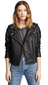 faux leather jackets below