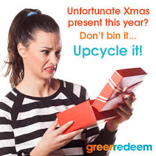 How to upcycle unwanted Xmas gifts