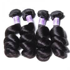 Unice 4pcs Pack Best Human Hair Bundles Indian Loose Wave