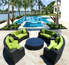round sectional outdoor furniture architecture wicker patio sets