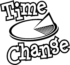 Image result for time change clip art