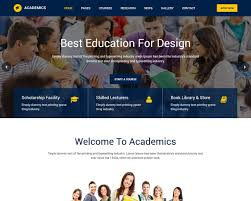 Templates For Education 20 Best Education Html Website Templates 2019 Templatemag