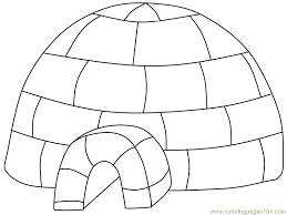 Small Picture igloo Coloring Page Free Royal Family Coloring Pages