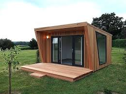 diy garden office. Self Build Garden Office Pinnacle Clad In Cedar With Sliding Door And Window Combination . Diy