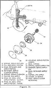 """If the servo cover seems to be hung on the """"0"""" ring cut and remove the """"0"""" ring seal before removing cover 9 remove the 2 4 servo assembly see figure"""