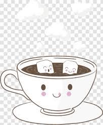 Halloween tree cat airship smoke fire explosion. Coffee Cup Tea Cafe Mug Cappuccino Cartoon Transparent Png